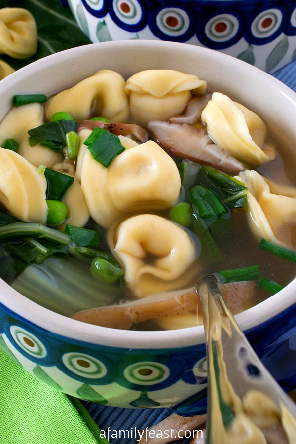 Easy Tortellini Soup - A Family Feast