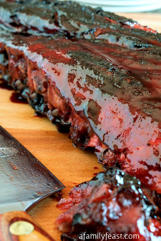 Asian Barbecue Pork Ribs - Make delicious, tender restaurant-quality ribs at home!