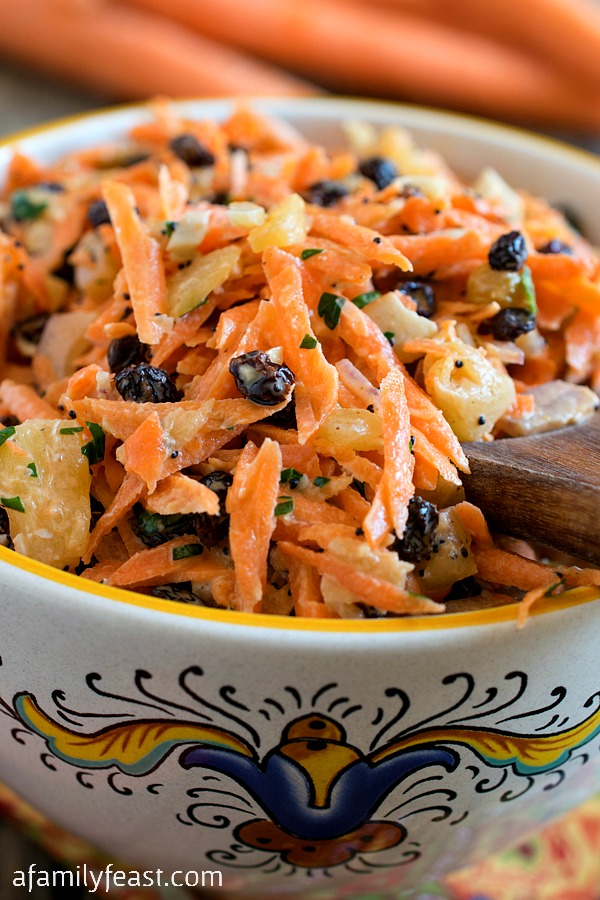 Carrot Salad - A Family Feast
