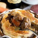 Oatmeal Stout Beef Pot Pie