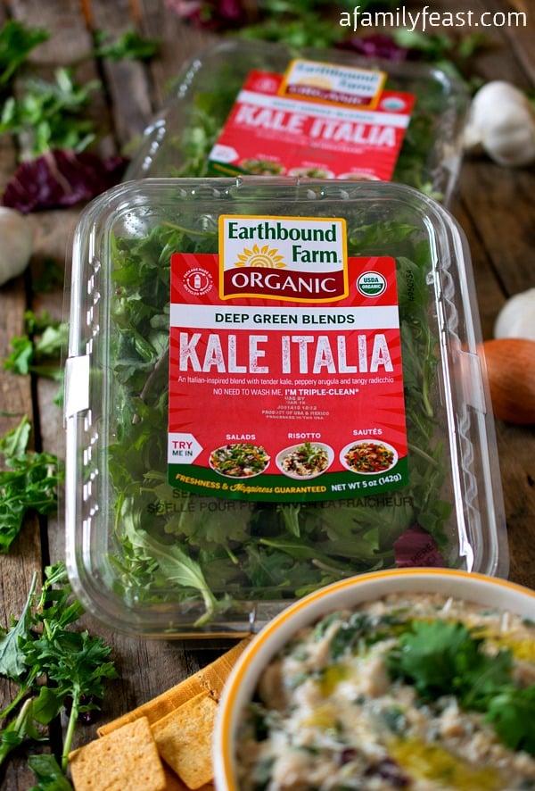 White Bean and Kale Dip - A Family Feast