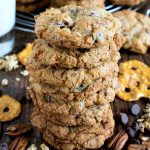 Crunchie Munchie Cookies