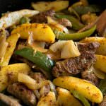 Easy Italian Sausage and Potato Skillet