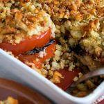 Tomato Portobello Gratin