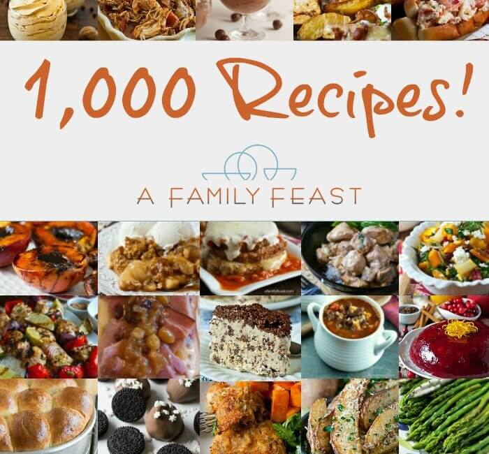 1,000 Recipes!