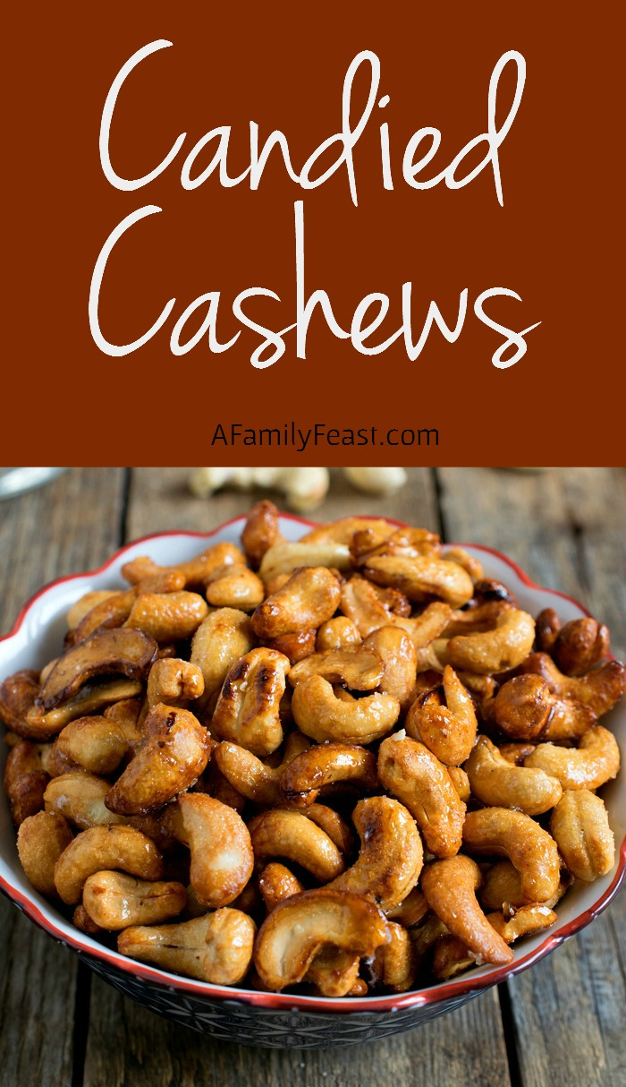 Candied Cashews - Addictively delicious, these salty-sweet nuts are ...