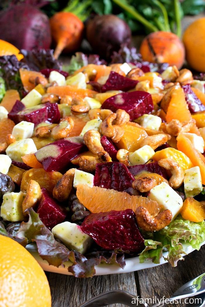Cara Cara Beet Salad - A Family Feast