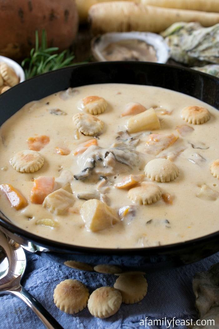 Matunuck Oyster Bar Stew - A Family Feast