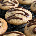 Stuffed Nutella Cookies