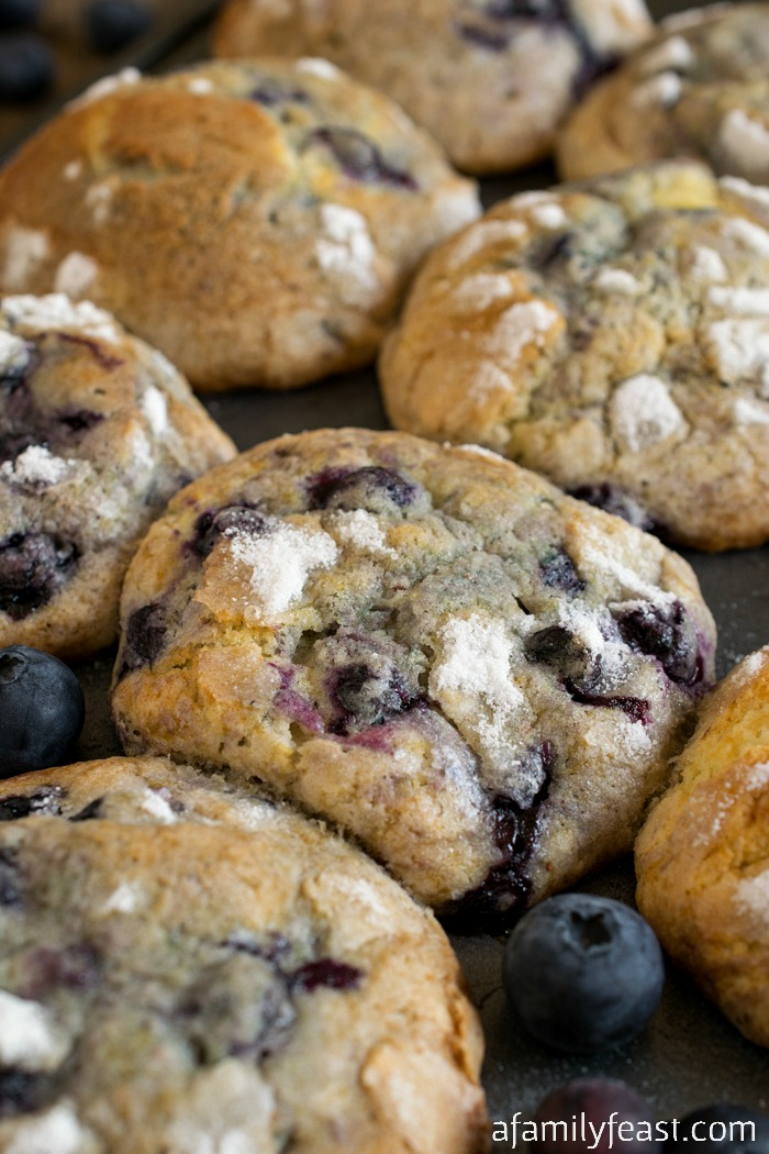 The Real Jordan Marsh Blueberry Muffins Recipe - A Family Feast