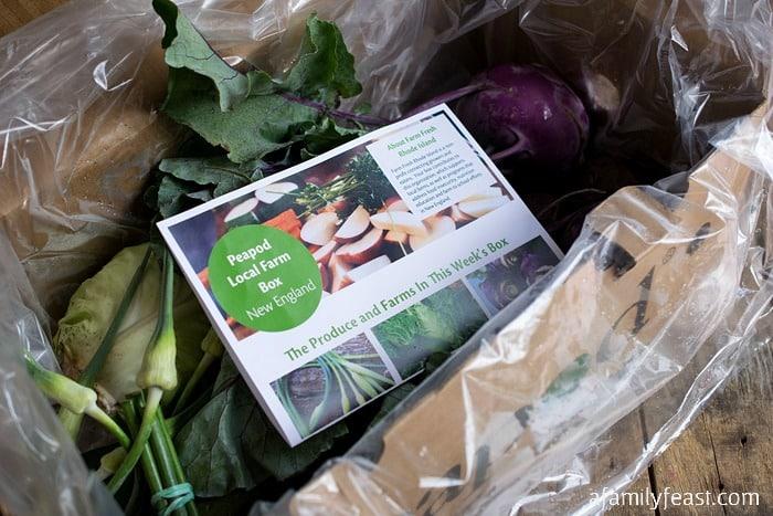 Farm Box Vegetable Egg Rolls - A Family Feast