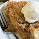 Mock Apple Crumb Pie (Made with Zucchini)