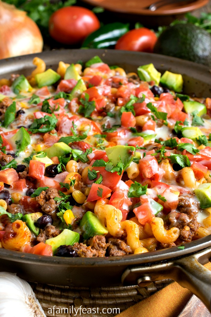 We developed this One Pot Tex-Mex Pasta recipe as part of our ongoing ...