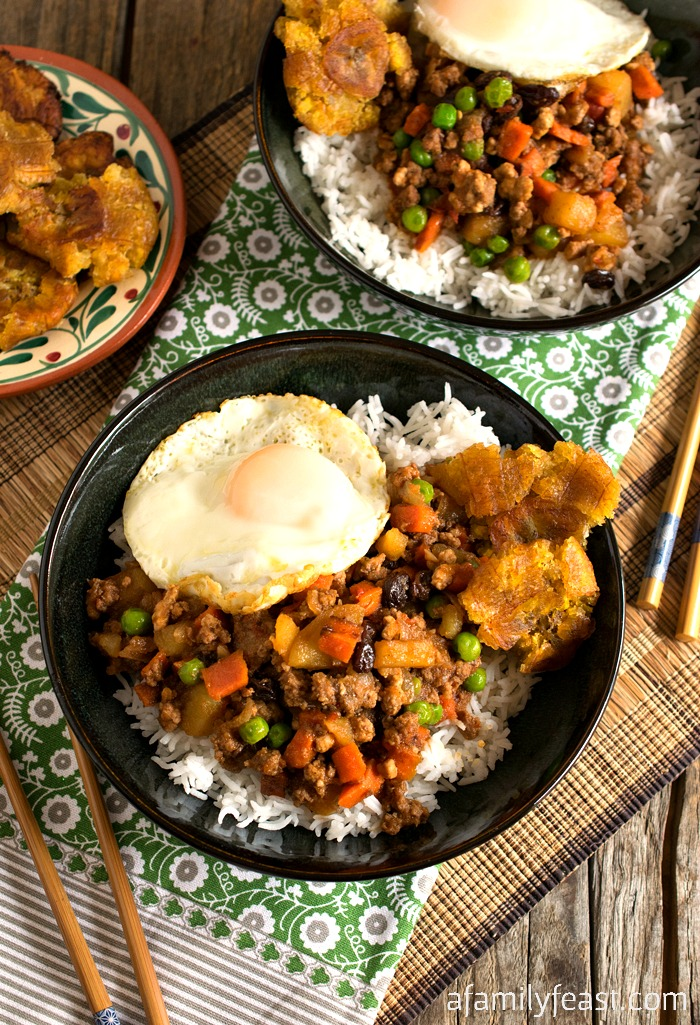 Filipino Picadillo - A Family Feast
