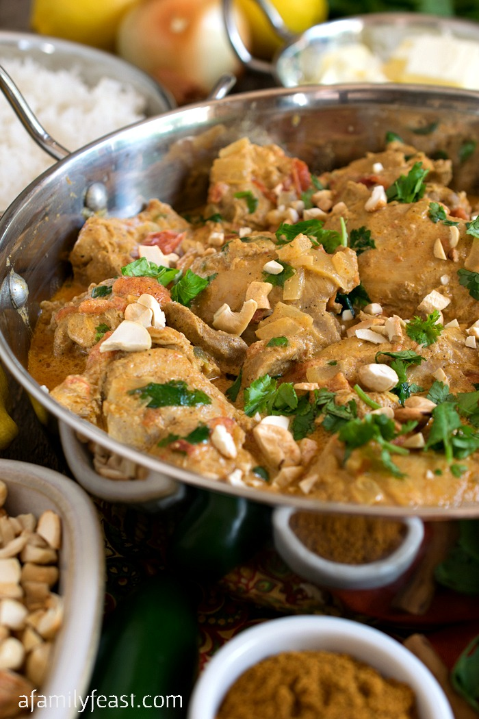 Chicken With Vindaloo Spices Recipe — Dishmaps