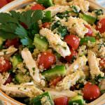 Quinoa Chicken and Vegetable Salad