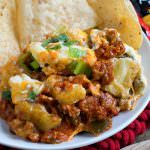 Italian Sausage and Eggplant Tailgate Dip