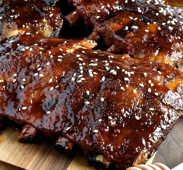 Slow Cooker Honey-Garlic Baby Back Ribs (and 'Real Food Slow Cooker Suppers' Cookbook Giveaway)