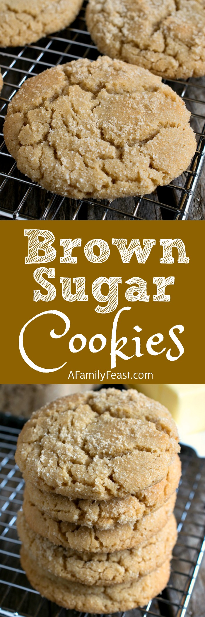 Brown Sugar Cookies are a clever twist on the traditional sugar cookie ...