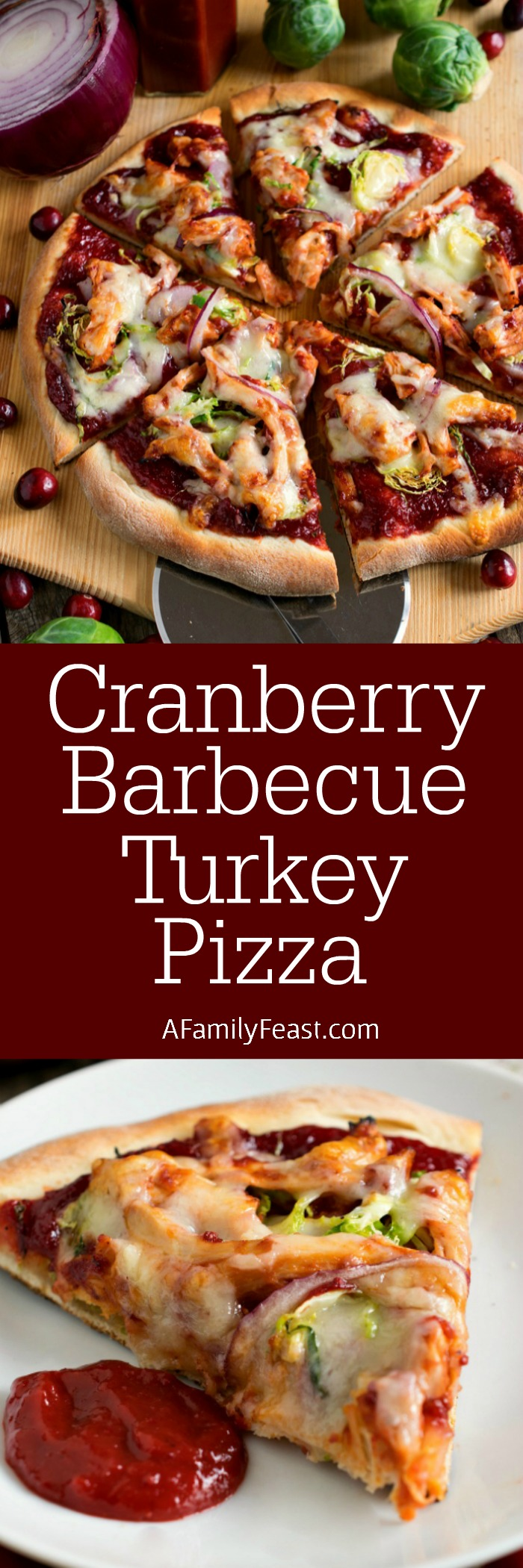 Cranberry Barbecue Turkey Pizza - A delicious different way to cook ...