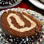 Malted Mocha Swiss Roll