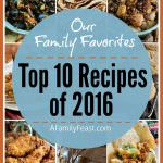 A Family Feast: Top 10 Family Favorites of 2016