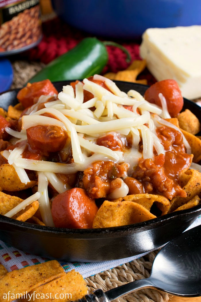 Corn Chip Chili Bowl A Family Feast